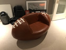 Leather Football Chair