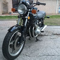black and gray standard motorcycle Toronto, M4Y 1A9