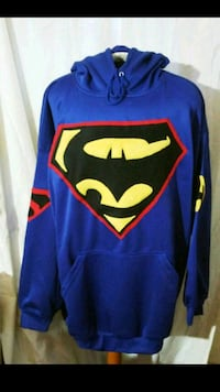 NEW Batman vs. Superman Hoodie! 4XL Men