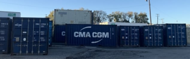 Heavy Duty Steel Cargo Containers