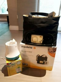 Medela double breastpump and Bottle warmer St. Catharines, L2N 6J4