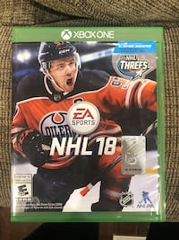 NHL18 for Xbox One Vaughan, L4J 8K5
