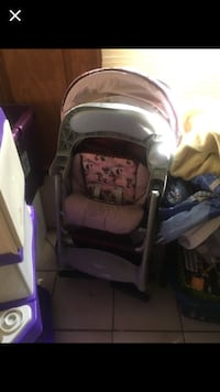 baby's gray and pink stroller Saint Augustine, 32086