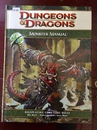 DnD 4.0 Manuals Châteauguay