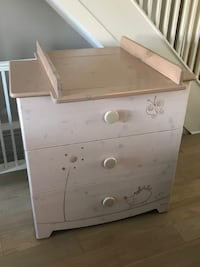 Crib + Mattress and Dresser/Changing Table