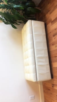 CREAM WHITE OTTOMAN WITH STORAGE Westmount