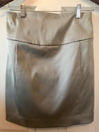 Express Silver Pencil Skirt Size 4