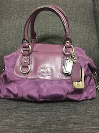 Small  Purple Madison Coach Bag Brampton, L6S 6K6