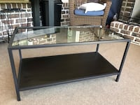 Tv stand glass top