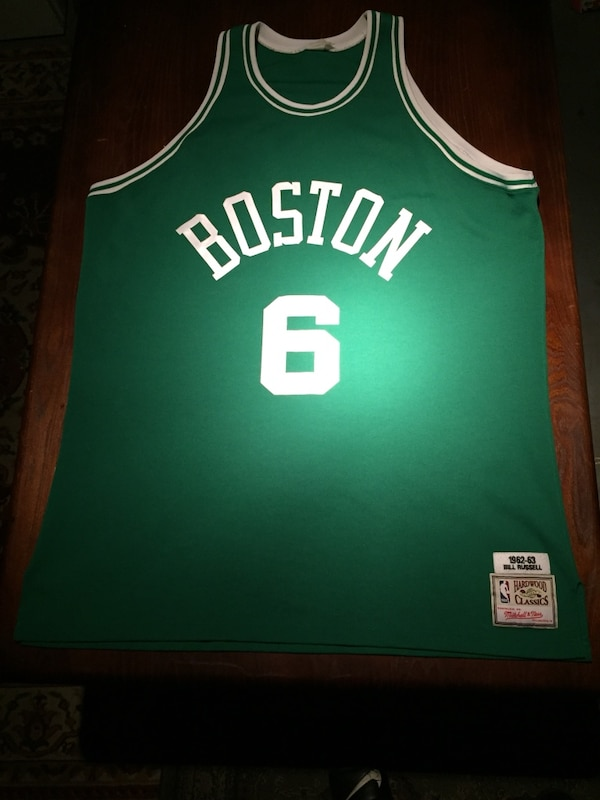 ec593b8265d Used Bill Russell Jersey Boston Celtics 1962-63 Mitchell   Ness Throwback  for sale in Atlanta - letgo