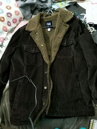 Make an offer Curdoroy brown button down jacket Thornton, 80229