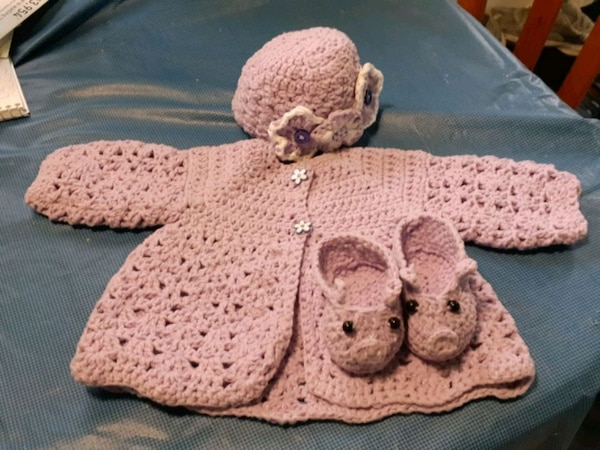 Made to order hand made crocheted items.