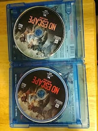 No Escape blu ray. And dvd combo  London, N6B 2S4