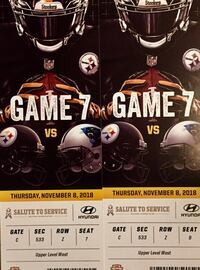 Steelers vs Carolina Panthers Tickets Pittsburgh, 15237