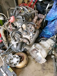 2010 FORD F150 ENGINE AND TRANSMISSION WITH 144K MILES AND OTHER PARTS