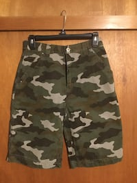 "URBUN UP PIPE-LINER CAMOUFLAGE KIDS SHORTS 26"" WAIST x  10"" INSEAM BRAND NEW NEVER WORN"