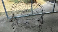 Vintage wire bench Muldrow, 74948