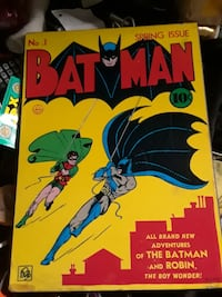 Extremely rare 1974 no 1 spring issue batman and   San Jose, 95112