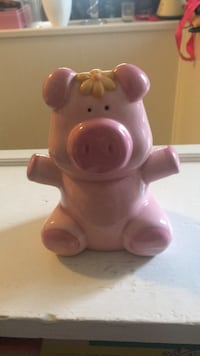 Pink ceramic piggy bank Silver Spring, 20901