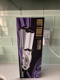 Deep Wave Curling Iron Silver Spring, 20902