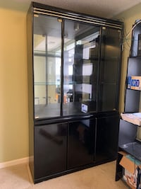 Very large glass storage cabinet - perfect for China, glassware, etc. Charlotte, 28269