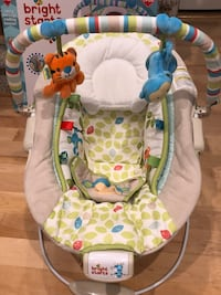 3 baby items- Baby bouncer, ticket & door jumper Suffolk, 23434