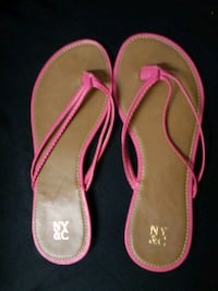 New York&Co. Pink/Brown Sandles