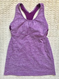 Lululemon Tank Top Size 6 Workout Clothes Fitness  Calgary, T2X 0L3