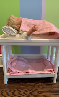 Bitty baby from American girl bunk beds