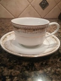Signature Collection Fine China Teacup & Saucer