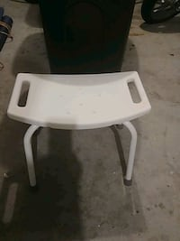 white and black high chair Bowie, 20721