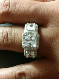 New solid 925 Sterling silver 3ct Smyrna, 37167