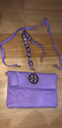 Tory Burch Pastel Purple Clutch with 2 removable straps Toronto, M5A 3C4