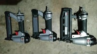 three gray-and-black Porter Cable pneumatic nailer Fairfield, 94533