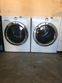 white front-load washer and dryer set Oxnard, 93033