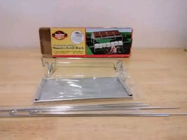 NEW STAINLESS STEEL SMORES GRILL RACK