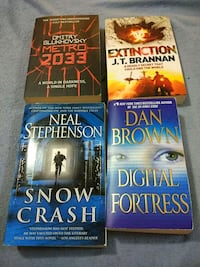 SciFi Collection 4 books good condition Toronto, M3H 2J2