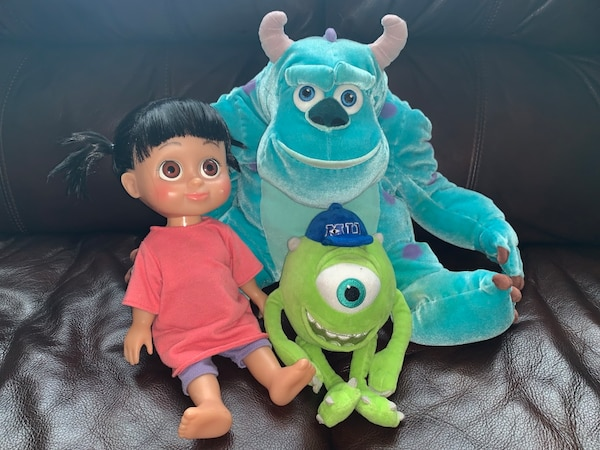 Monsters Inc characters Doll is animated it talks when pressed in stomach