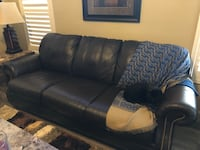 Ethan Allen Leather Sofa Saint George, 84790