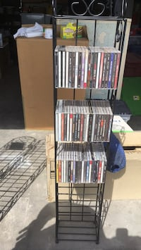 CD/DVD Tower with CDs!!! Las Cruces, 88011