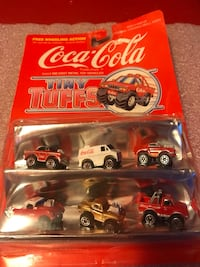 Coca-Cola Tiny Tuffs 1970'S Die Cast Chicago, 60660