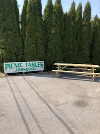 Picnic tables for sale 8ft all treated lumber