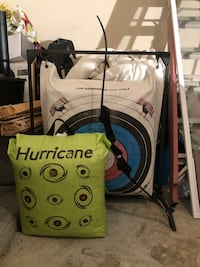 Bow with 2 targets