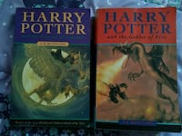 Two Harry Potter books Surrey, V4N 6B4