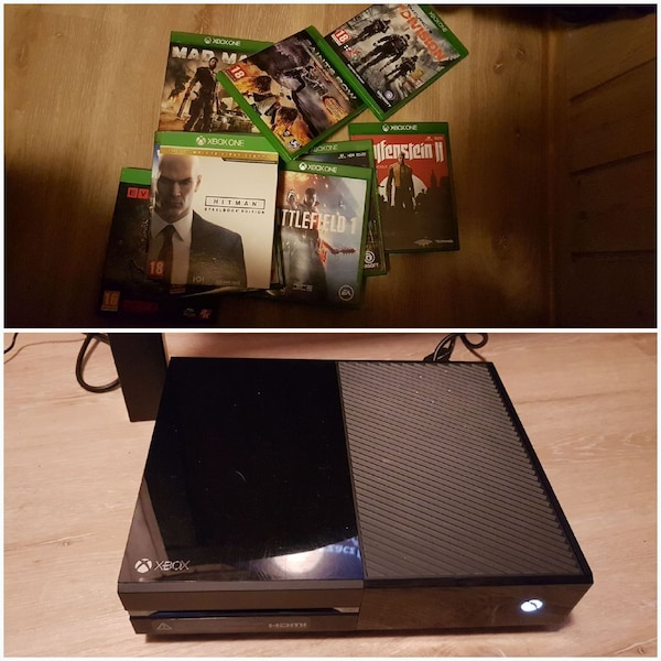 XBOX ONE 500GB + 10 SPILL