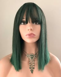 Very Pretty Emerald Wig for Everyday or Cosplay Calgary, T2P