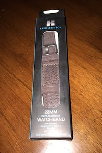 Pebble Brown Watch Band Vienna, 22181