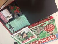 Monopoly board game set with box