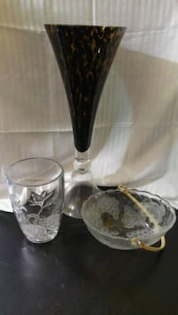 Large Glass/Crystal vases New Lowell, L0M 1N0