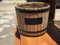 brown and black wooden barrel Universal City, 78148